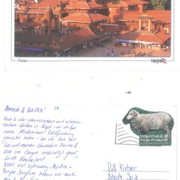 Feriengrüsse von Karin & Lars aus Nepal