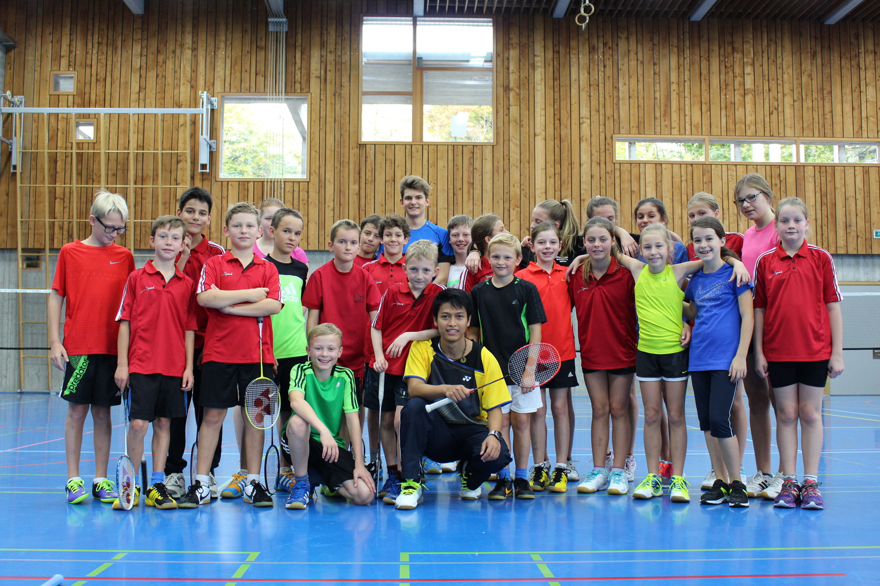Badminton Bären Kids Trainingswoche