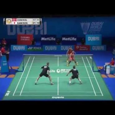 Unglaublicher Ballwechsel am Dubai Super Series